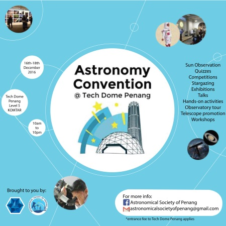 astronomy convention @ tech dome penang