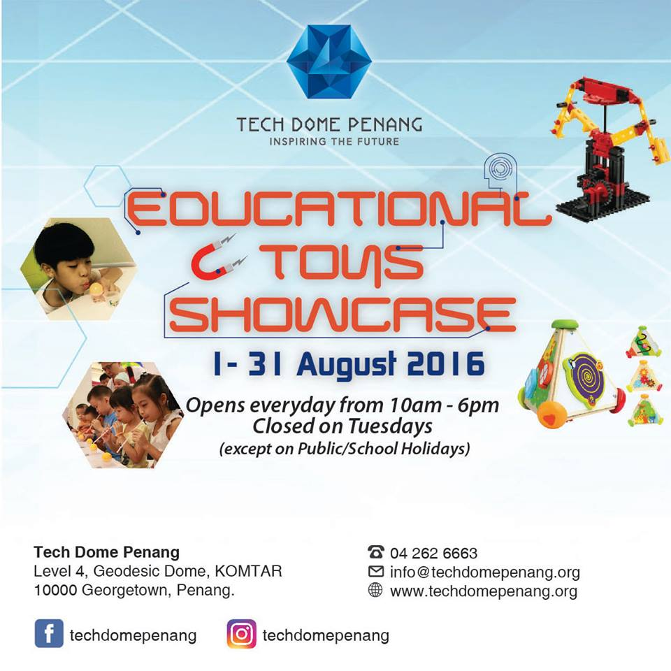 educational tons showcase ets 2016 - tech dome penang